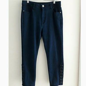 DL 1961| Bardot Hi-Rise Cropped Jeans